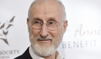 In this Saturday, March 29, 2014, file photo, actor James Cromwell arrives at The Humane Society Of The United States 60th Anniversary Benefit Gala, in Beverly Hills, Calif. (Photo by Richard Shotwell/Invision/AP, File)