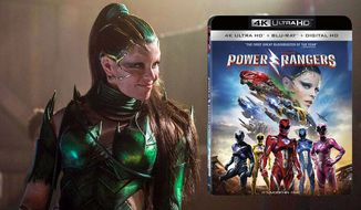 "Elizabeth Banks as Rita Repulsa in ""Power Rangers,"" now available on 4K Ultra HD from Lionsgate Home Entertainment."