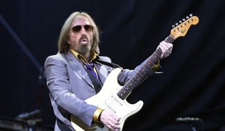 Tom Petty performs with the Heartbreakers during their headlining set on Day 1 of the inaugural 2017 Arroyo Seco Music Festival on Saturday, June 24, 2017, in Pasadena, Calif. (Photo by Chris Pizzello/Invision/AP) ** FILE **