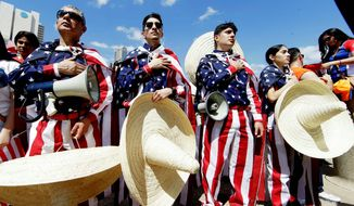 Dreamers, who just weeks ago cheered the administration's announcement that it was maintaining DACA, were furious at the latest turn of events and called Texas' move racist. (Associated Press/File)