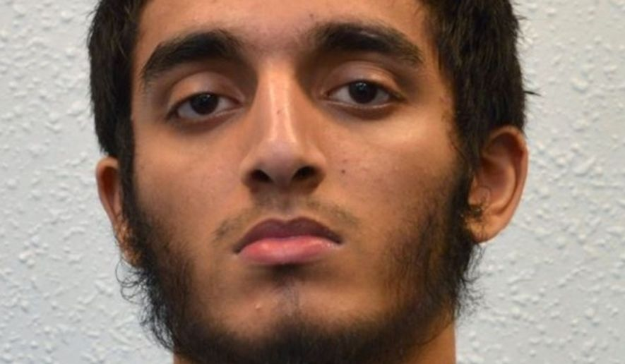 A British judge handed Haroon Syed, 19, a life sentence in prison on July 3, 2017, for planning a terror attack on a 2016 Elton John concert. (Metropolitan Police)