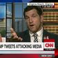 Rep. Scott Taylor says the left-leaning media need stop playing into President Trump's hands by overanalyzing his every tweet and start covering some real news. (CNN)