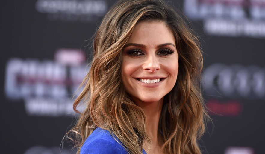 "In this  April 12, 2016, file photo, Maria Menounos arrives at the Los Angeles premiere of ""Captain America: Civil War"" at the Dolby Theatre. Menounos told People magazine for an article published online July 3, 2017, that she underwent surgery on June 8 to remove a benign brain tumor. (Photo by Jordan Strauss/Invision/AP, File )"