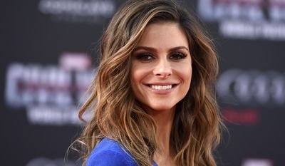 """In this  April 12, 2016, file photo, Maria Menounos arrives at the Los Angeles premiere of """"Captain America: Civil War"""" at the Dolby Theatre. Menounos told People magazine for an article published online July 3, 2017, that she underwent surgery on June 8 to remove a benign brain tumor. (Photo by Jordan Strauss/Invision/AP, File )"""
