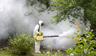 ZAP Male mosquitoes reduce the need for chemical insecticides. (Associated Press/File)