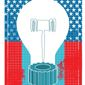 Illustration on patents and protection of American intellectual property by Linas Garsys/The Washington Times