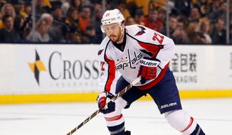 Former Washington Capitals defenseman Kevin Shattenkirk turned down more money and less years to sign with his hometown New York Rangers. (Associated Press)