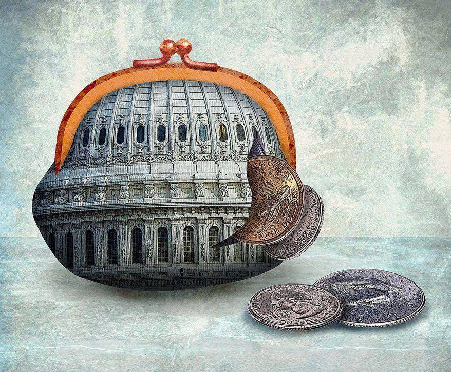 Discipline of Congress Illustration by Greg Groesch/The Washington Times