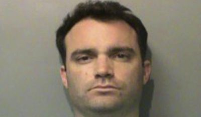 """This June 24, 2017 photo provided by the Polk County Jail in Des Moines, Iowa, shows Phil Valenziano. Court documents show Valenziano, the campaign manager for Iowa Gov. Kim Reynolds pleaded guilty to public intoxication after he was spotted urinating outside a nightclub in West Des Moines and admitted to being """"very drunk."""" (Polk County Jail via AP)"""