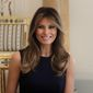 First lady Melania Trump was commended for her diplomatic skills and grace on the global stage this week by members of the press. (Associated Press)