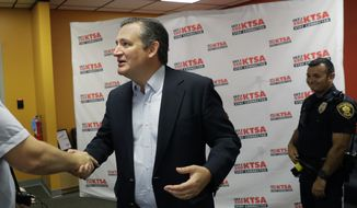 Sen. Ted Cruz, Texas Republican, has proposed allowing customers choose to maintain robust plans or opt for less-elaborate plans that don't comply with Obamacare regulations. Analysts, however, say only the sickest customers will stay with the status quo, driving up costs. (Associated Press/File)