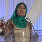 Staunch Israel critic Linda Sarsour has described Zionism as incompatible with feminism and embraced convicted Palestinian terrorist Rasmea Odeh. (YouTube)