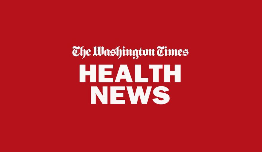 HEALTH NEWS BANNER FROM THE WASHINGTON TIMES