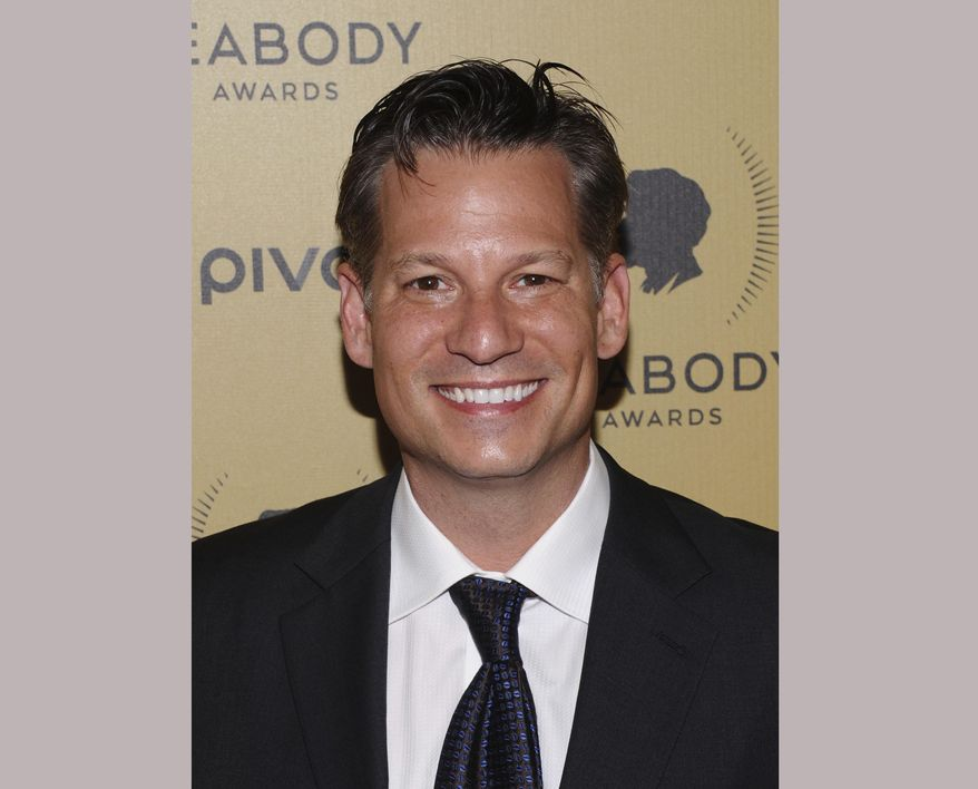 """FILE - In this May 31, 2015 file photo, NBC News foreign correspondent Richard Engel attends the 74th Annual Peabody Awards in New York. Engel is borrowing Rachel Maddow's MSNBC time slot Friday nights over the next month for """"On Assignment,"""" a series that sets aside constant cable news chatter for deeply reported stories about world affairs. (Photo by Charles Sykes/Invision/AP, File)"""