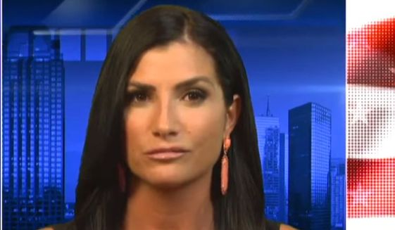 "Radio host Dana Loesch told Fox New Channel's Tucker Carlson on July, 6, 2017, that an upcoming Women's March protest against the National Rifle Association is organized by a ""fake feminists."" (YouTube, Fox News Channel) ** FILE **"