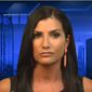 "Radio host Dana Loesch told Fox New Channel's Tucker Carlson on July, 6, 2017, that an upcoming Women's March protest against the National Rifle Association is organized by a ""fake feminists."" (YouTube, Fox News Channel)"