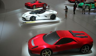 Museo Enzo Ferrari (Photograph by Jacquie Kubin/Special to the Washington Times)