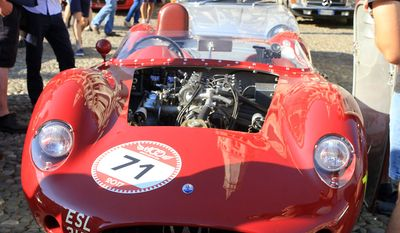 1965 Maserati at the 17th annual Modena Cento Ore. (Photograph by Jacquie Kubin/Special to the Washington Times)