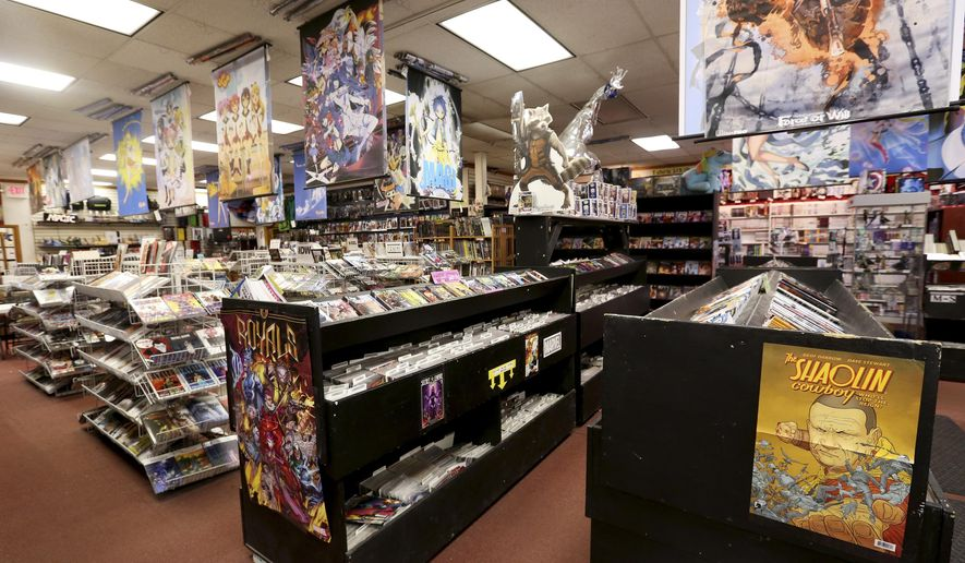 This June 28 2017 Photo Shows The Interior Of The Comic Shop In Fairbanks Alaska The Store 39 S