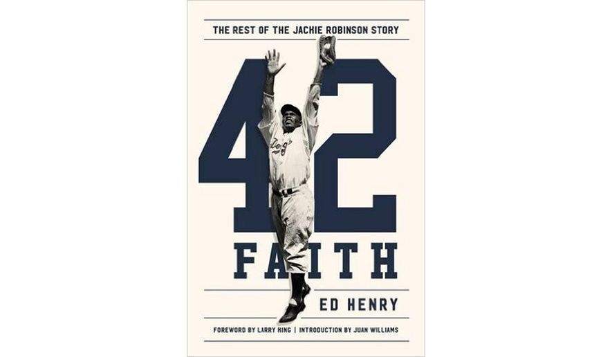 BOOK REVIEW: '42 Faith: The Rest of the Jackie Robinson Story