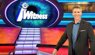"Comedian John Henson hosts the new gameshow ""iWitness"" on Fox.  (Twitter)"