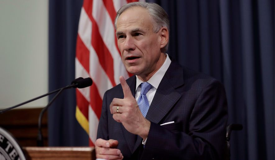 Texas Gov. Greg Abbott, a Republican, sent a first-of-its-kind waiver to the Centers for Medicare and Medicaid Services seeking federal funding for a state-administered family planning program that excludes abortion providers and their affiliates. (Associated Press)