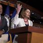 House Minority Leader Nancy Pelosi's office said she's responsible for more than half a billion dollars collected by Democrats in the last 15 years. (Associated Press)