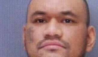 This undated photo provided by State Correctional Institution-Dallas via The Citizens' Voice shows Jessie Con-Ui. Jurors who convicted Con-ui last month of first-degree murder and murder of a correction officer failed to reach agreement Monday, July 10, 2017, on whether he should face death or a life term, meaning he receives an automatic sentence of life in prison without the possibility of parole. (State Correctional Institution-Dallas/The Citizens' Voice via AP)