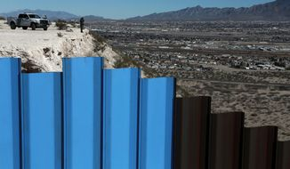 President Trump wants $1.6 billion to build 60 miles of new barriers, 500 more Border Patrol agents, 1,000 more agents and officers to handle deportations from the interior of the U.S. and enough money to maintain an average of 44,000 detention beds to hold illegal immigrants. (Associated Press)