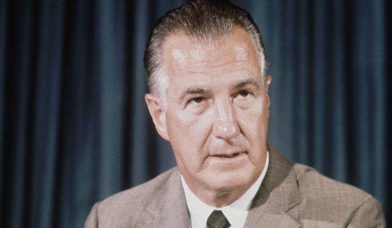 Spiro Agnew in 1969    Associated Press photo