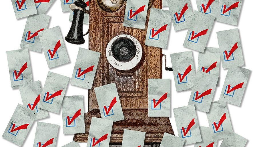 Plebiscite Vote Illustration by Greg Groesch/The Washington Times