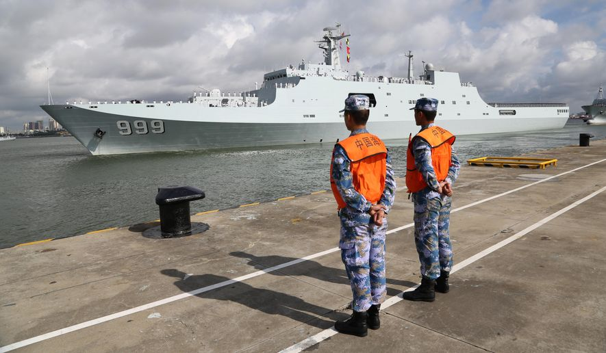 China dispatched members of its People's Liberation Army to Djibouti two years ago to man the rising Asian giant's first overseas military base, a key part of a wide-ranging expansion of the role of China's armed forces. The base's proximity to the U.S. military's Camp Lemonnier has been a continuing source of tension. (Associated Press/File)