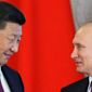 Russian President Vladimir Putin, right, and Chinese President Xi Jinping attend a signing ceremony following their talks in the Kremlin in Moscow, Russia, Tuesday, July 4, 2017. Chinese President Xi Jinping meets with Russia's President Vladimir Putin for talks on boosting ties between the two allies. (Sergei Ilnitsky/Pool Photo via AP) (credit)
