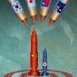 Closer to the Korean Showdown Illustration by Greg Groesch/The Washington Times