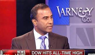 """Entrepreneur Shiva Ayyadurai, a Bombay-born independent who is running to unseat Sen. Elizabeth Warren in Massachusetts, already is the early favorite for the November election's catchiest campaign slogan: """"Only a real Indian can defeat a fake Indian."""" (Associated Press/File)"""