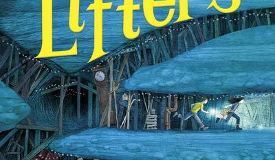 """This cover image released by Alfred A. Knopf Books for Young Readers shows, """"The Lifters,"""" a fantasy novel for middle schoolers written by Dave Eggers. The book will be released on March 27, 2018. (Alfred A. Knopf Books for Young Readers via AP)"""