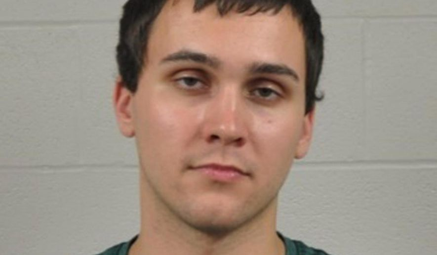 FILE - In this undated file photo provided by the University of Maryland Police Department, Sean Urbanski. Urbanski, arrested in a fatal stabbing at the University of Maryland that has been under investigation as a possible hate crime has been indicted on a murder charge. (University of Maryland Police Department via AP, File)