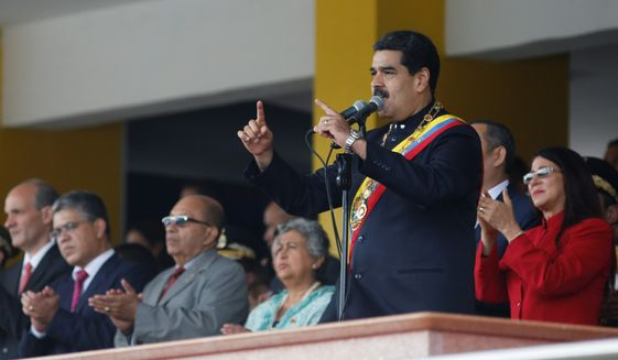 Venezuelan President Nicolas Maduro Maduro no longer is battling for the hearts and minds of Venezuelans, the vast majority of whom blame him for an unprecedented economic and social meltdown. (Associated Press/File)