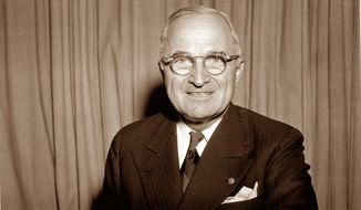 Harry S Truman. (Associated Press) ** FILE **