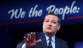 Sen. Ted Cruz, Texas Republican, is being challenged by Rep. Beto O'Rourke for his Senate seat. This race is one to watch in the midterms. (Associated Press) ** FILE **