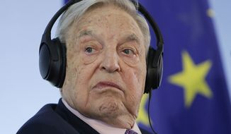 14. George Soros - Founder, Soros Fund Management LLC. Ranked number 29 in the world with a net worth of $25.2 billion. (Associated Press) ** FILE **