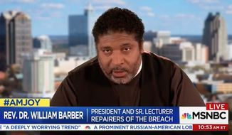 "The Rev. William Barber, a pastor and president of North Carolina's NAACP chapter, claimed Saturday that praying for President Trump is a form of ""theological malpractice that borders on heresy."" (MSNBC via Breitbart)"