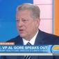 "Former Vice President Al Gore made the claim Monday that President Trump is ""deliberately"" making decisions that hurt America's standing on the global stage. (NBC)"