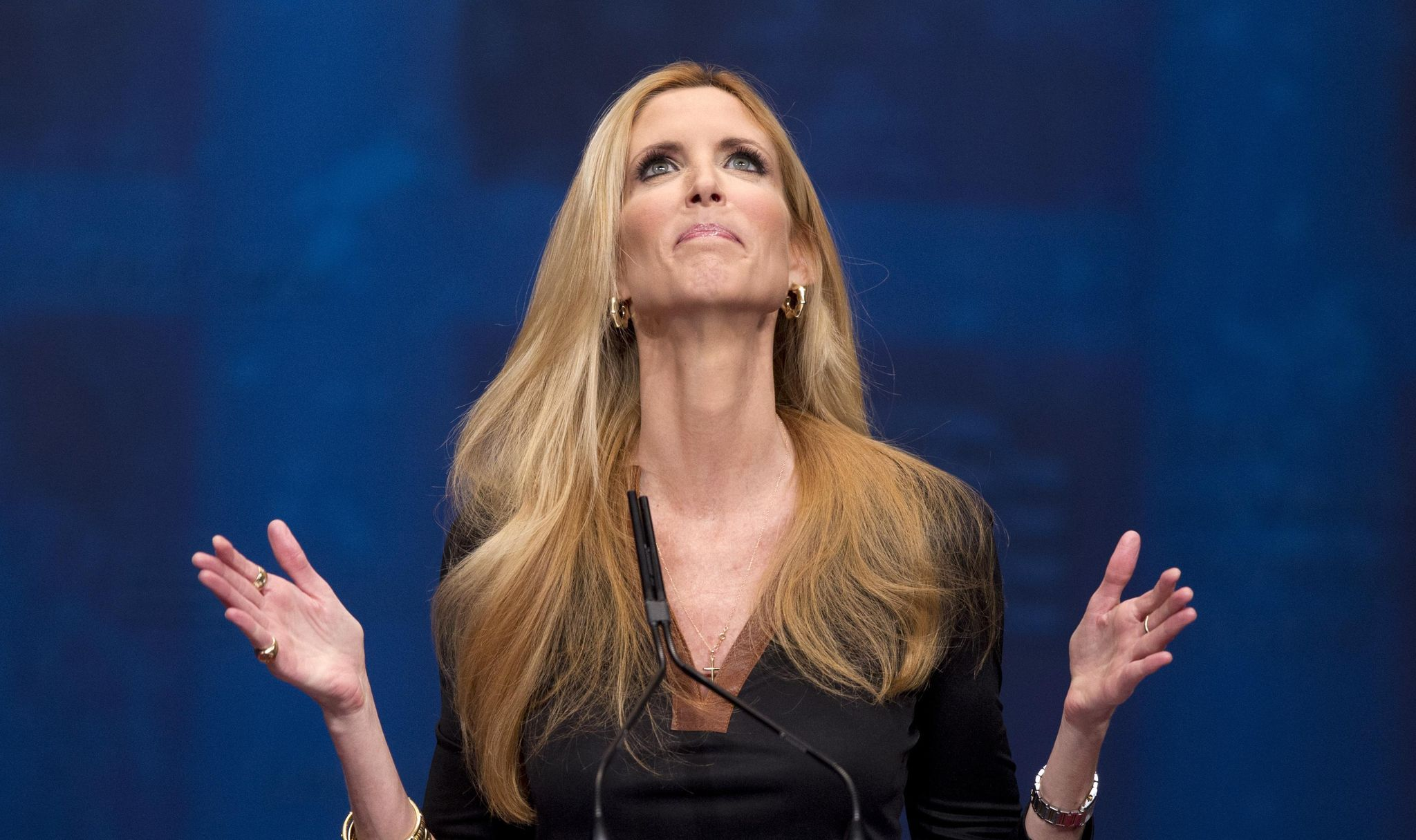 Ann Coulter, who says we voted for Trump but got Jeb, needs to ease off the 90-proof hyperbole juice