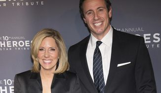 "FILE - In this Dec. 11, 2016 file photo, Alisyn Camerota and Chris Cuomo attend the 10th Annual CNN Heroes: An All-Star Tribute at the American Museum of Natural History in New York. The hosts of CNN's ""New Day"" have vastly different social media approaches, with Camerota recently leaving Twitter entirely and her co-host Cuomo keeping up his online profile and engaging with fans and critics, including on occasion President Donald Trump. (Photo by Charles Sykes/Invision/AP, File)"