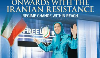 Onwards with the Iranian Resistance: Regime change within reach (cover, July 18, 2017)