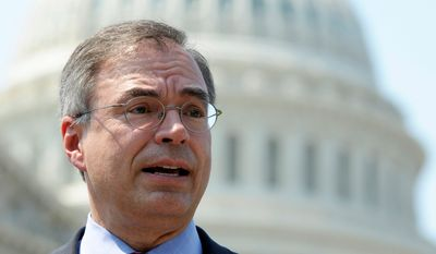 """I just don't think it's appropriate for the government to give doctors the authority to play God with people's lives,"" said Rep. Andy Harris, Maryland Republican. (Associated Press)"