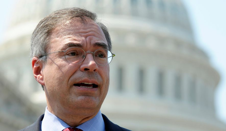 File photo of Rep. Andy Harris, Maryland Republican. (Associated Press)