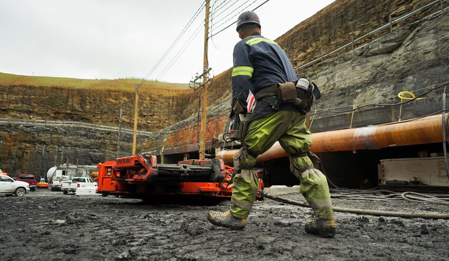 President Trump has hailed the opening of a coal mine in Friedens, Pennsylvania. After putting the state in the Republican column for the first time in nearly three decades, working-class voters said they are still happy that they took a gamble and sent the New York billionaire to shake up Washington. (Associated Press/File)