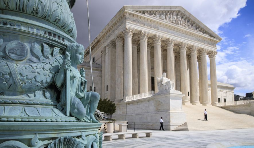 Protests are common outside the U.S. Supreme Court, but five activists two years ago decided to disrupt oral arguments inside. (Associated Press/File)
